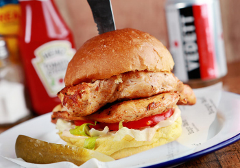 Shed chicken burger