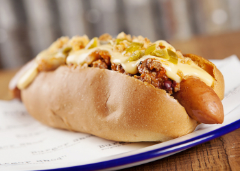 Shed chilli cheese dog