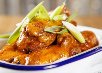 Shed chicken wings